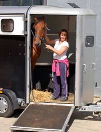 Horse Box Lorry Stall Water Journey